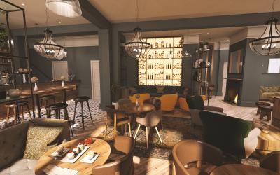 The Fleece Hotel Cafe Bar